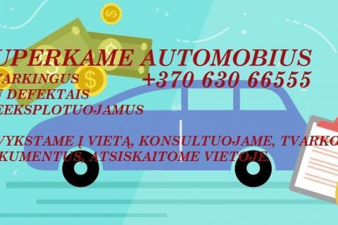 auto supirkimas Kaune