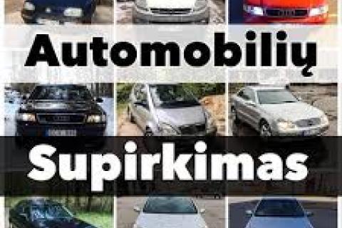 Automobilių supirkimas Kaunas