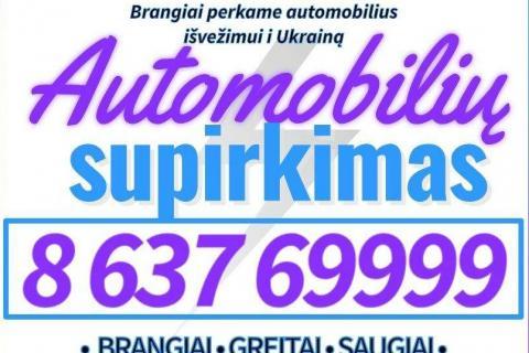 #1 Automobilių Supirkimas brangiai ir greitai